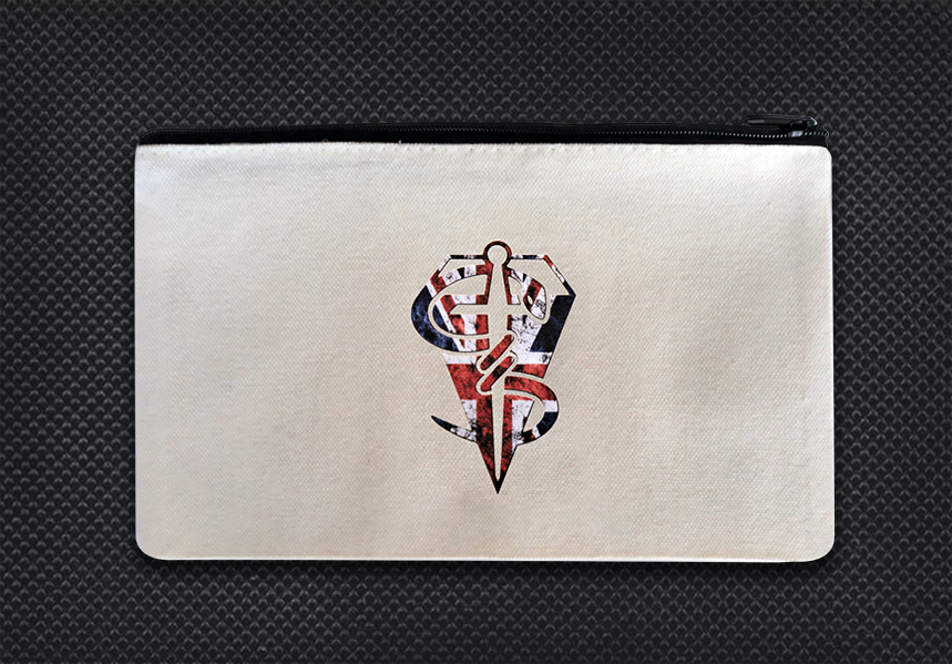 White case Union Jack logo boo boo kit