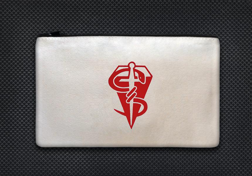 White case red logo boo boo kit